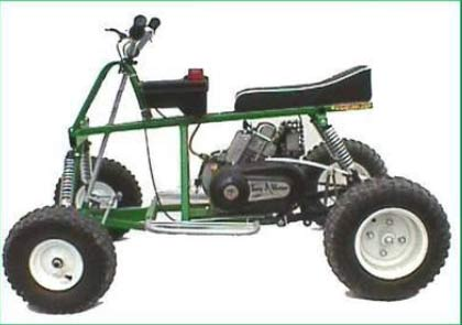 Квадроцикл схема сборки