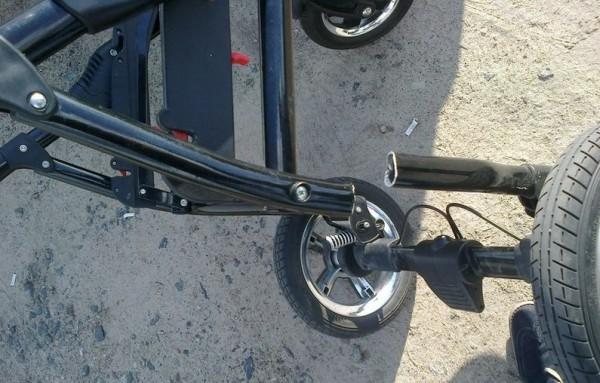 Ремонт колеса на коляске своими руками 475