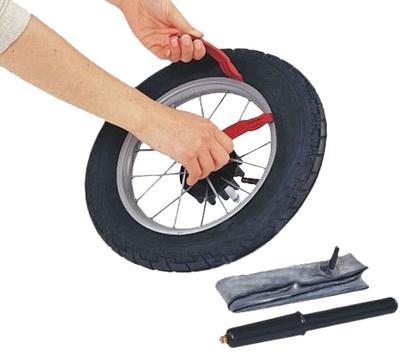 Ремонт колеса на коляске своими руками 946
