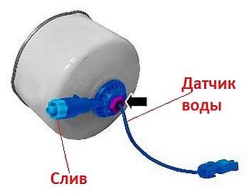 voda_v_bake_toplivnyj_filtr