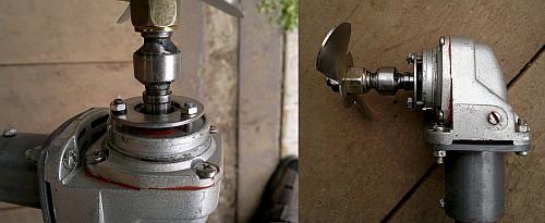 motor dlya lodki iz trimmera 6