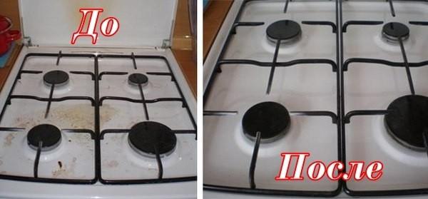 Очистка газовой плиты от нагара двухкомфорочная электроплита мечта 4м