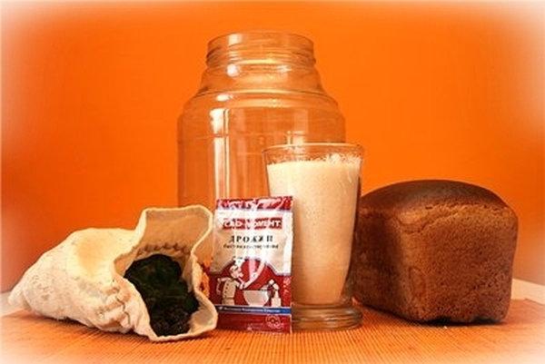 рецепты приготовления хлебного кваса в домашних условиях