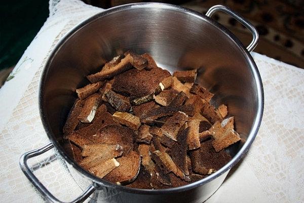 рецепт приготовления домашнего кваса без дрожжей в домашних условиях