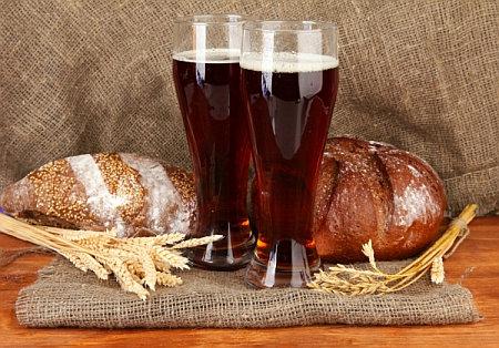 рецепт хлебного кваса на пиве