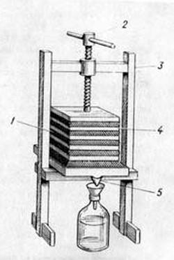 станина для пресса технопланктона