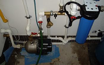 Схема водоснабжения дачного дома